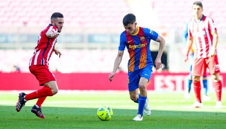 مباراة الديربي الإسباني بين برشلونة وأتلتيكو مدريد