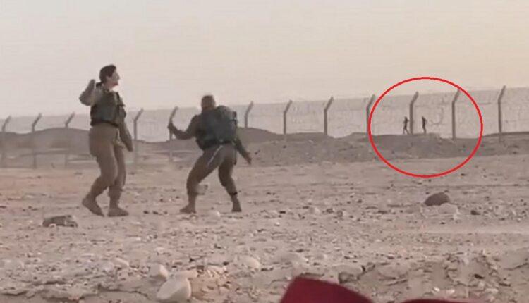مجندات اسرائيليات يرقصن مع جنود مصريين