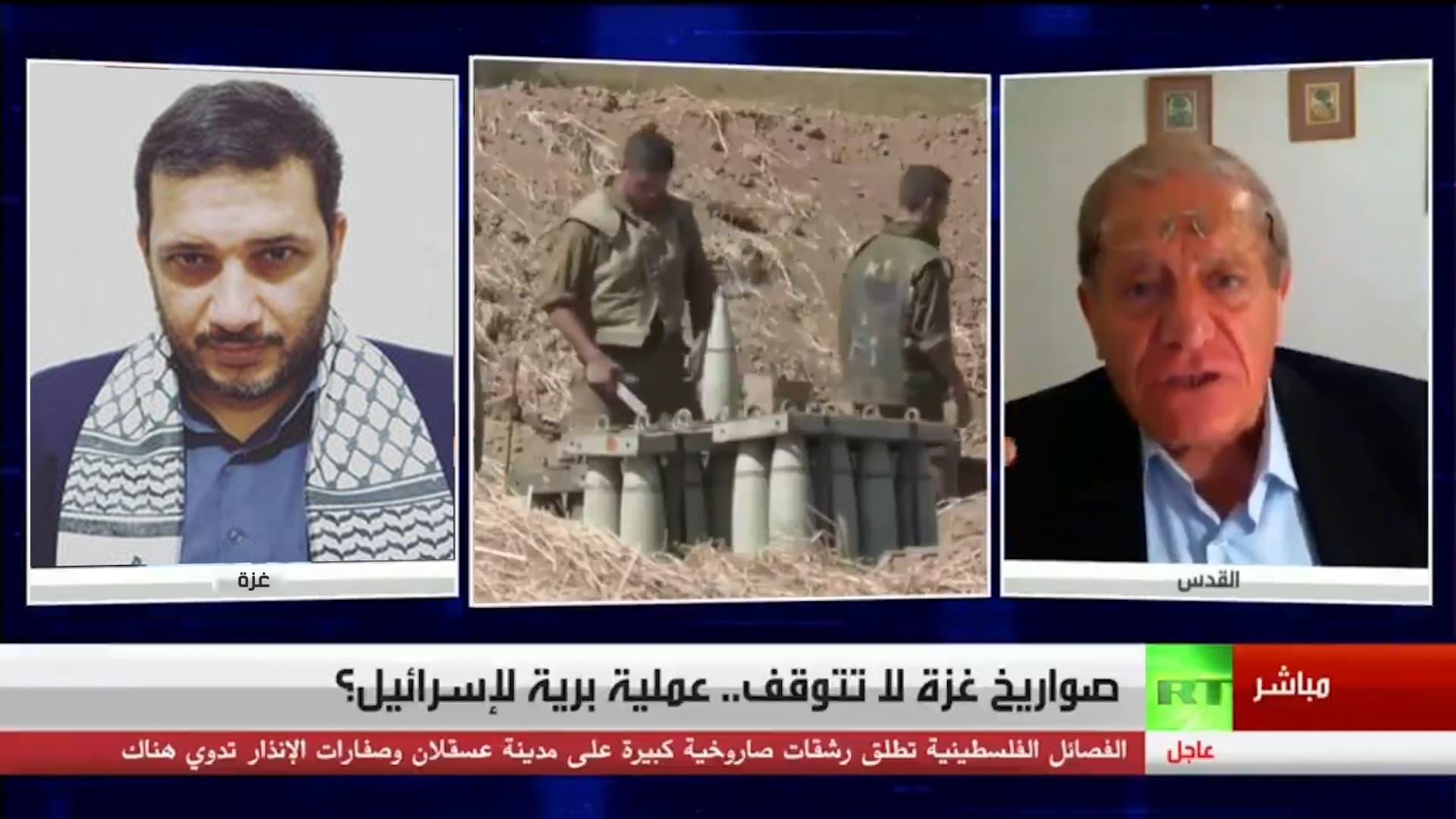 محلل سياسي اسرائيلي يهدد إبراهيم المدهون
