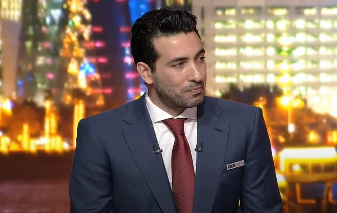 (شاهد) ما فعله محمد أبو تريكة على الهواء مباشرة نصرة لغزة وأهالي الشيخ جراح