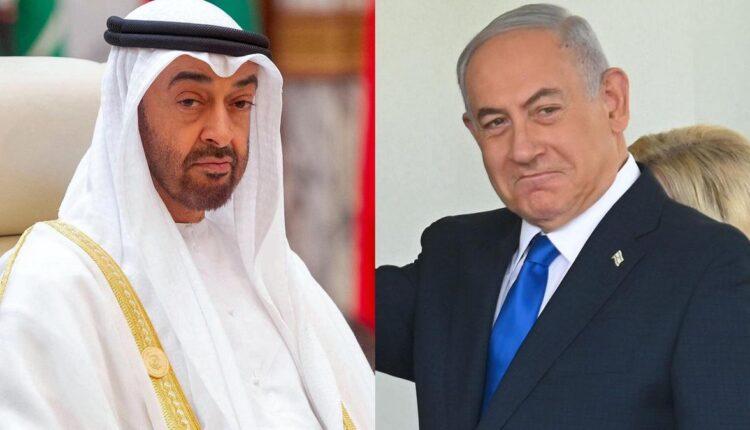 محمد بن زايد وبنيامين نتنياهو