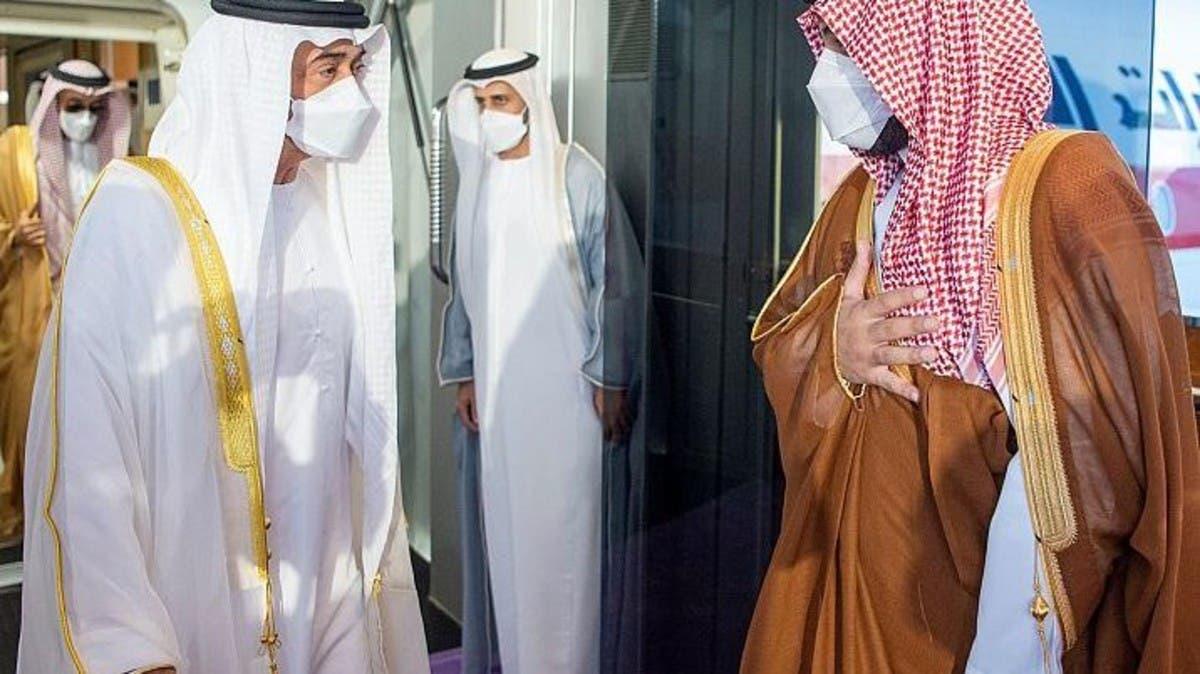 (شاهد) ما سر الزيارة المفاجئة والخاطفة من محمد بن زايد لـ محمد بن سلمان في جدة؟