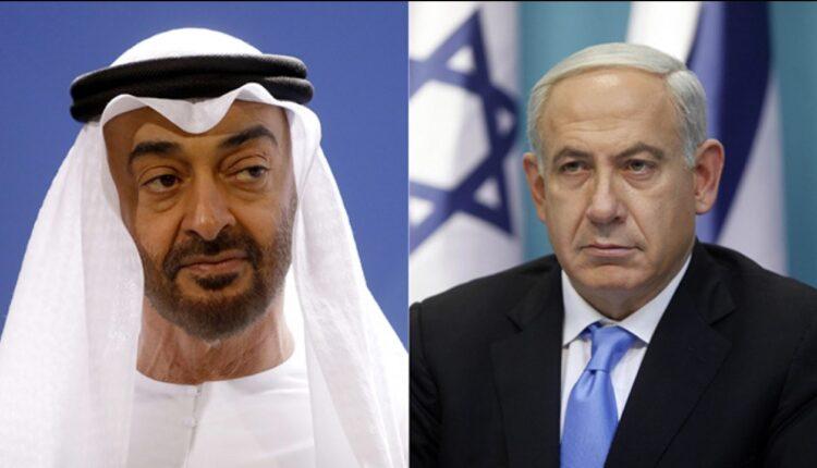 محمد بن زايد ونتنياهو