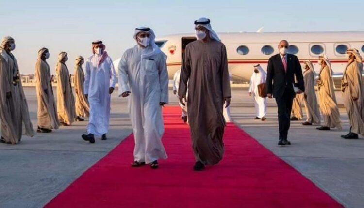 محمد بن زايد يستقبل ولي عهد البحرين ويتجاهل ممثل ملك الأردن بشر خصاونة