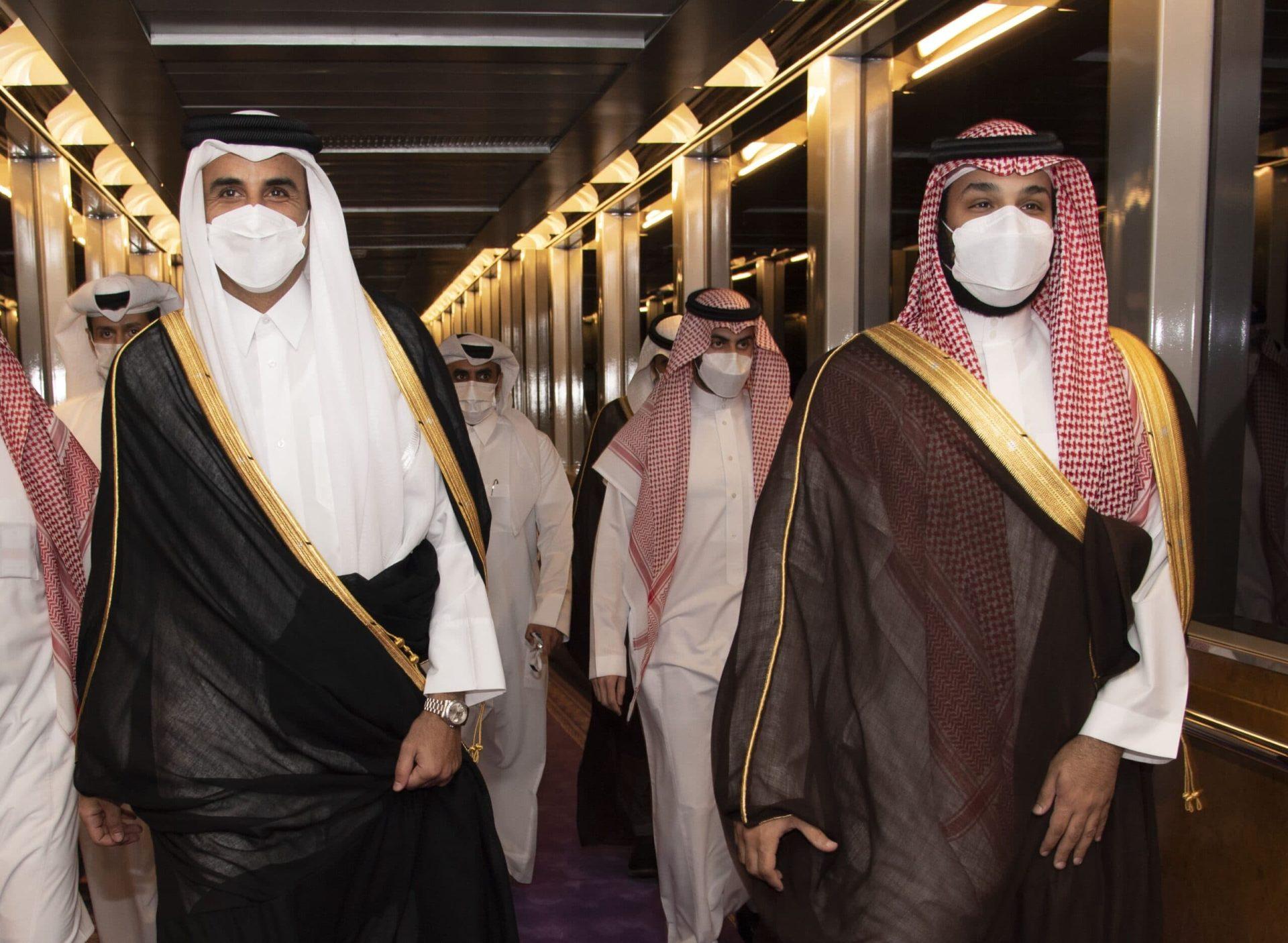 بوادر انفراجة دبلوماسية بين تركيا والسعودية بوساطة الامير تميم