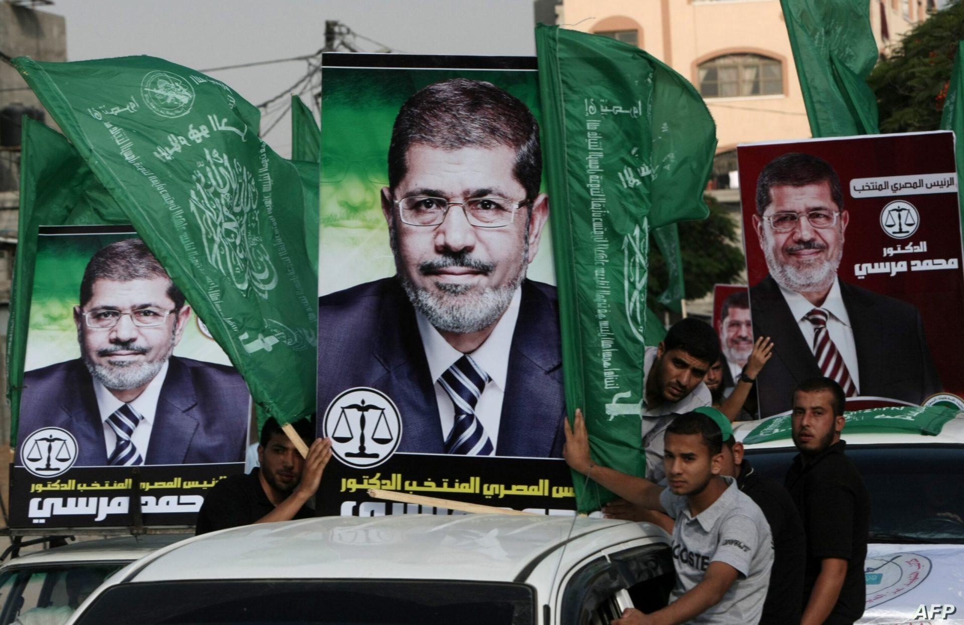 محمد مرسي وحماس