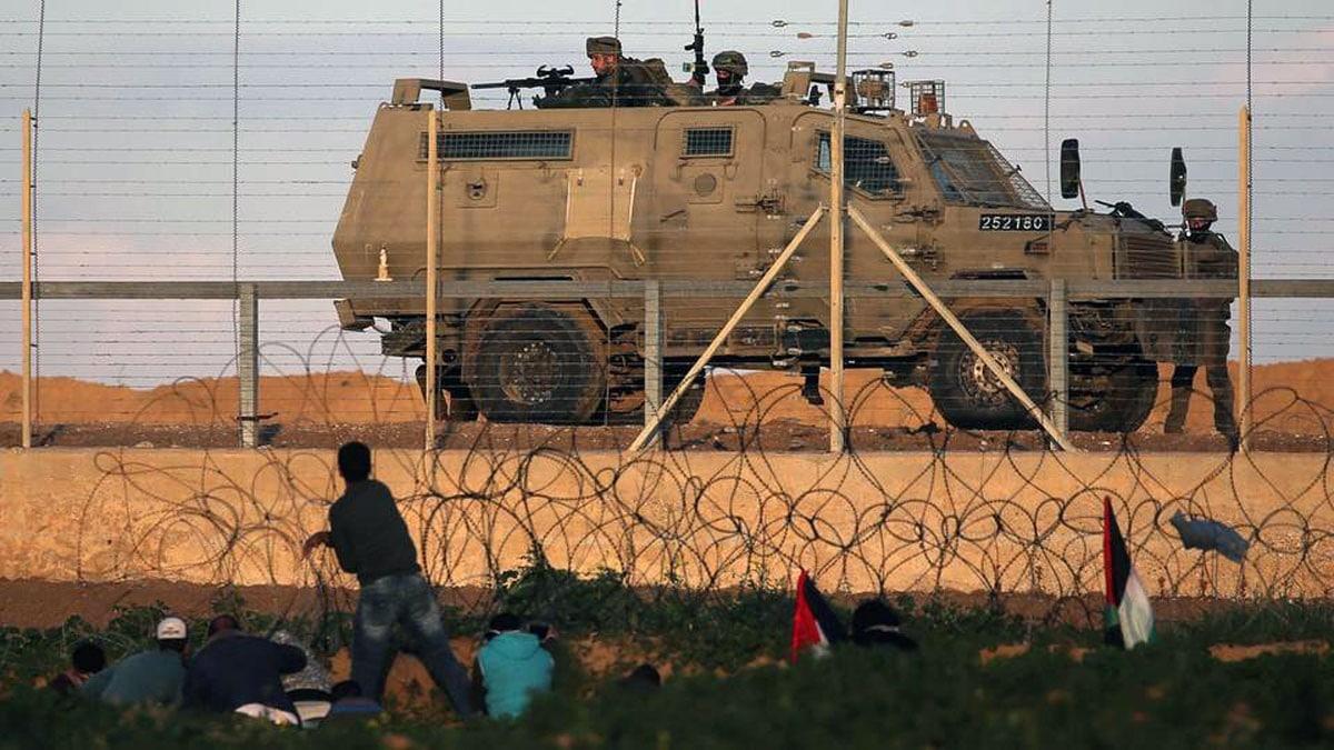 سرايا القدس تقصف مركبة اسرائيلية شمال قطاع غزة