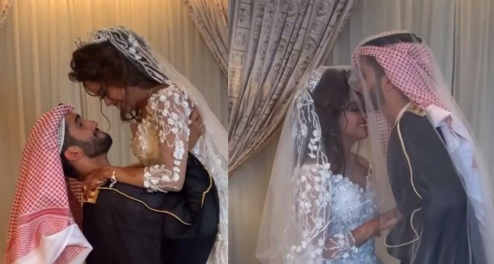 مشاعل الشحي وزوجها