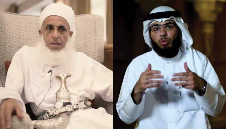 مفتي سلطنة عمان أحمد الخليلي والداعية وسيم يوسف