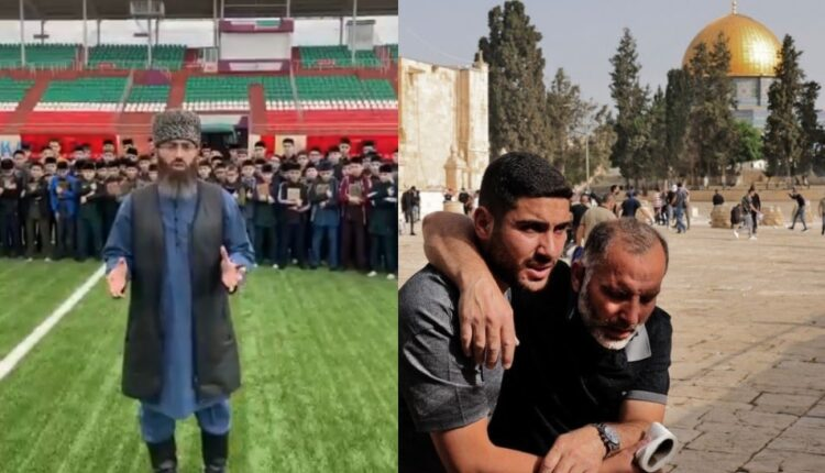 من الشيشان رسالة تضامن مؤثرة مع أهالي مدينة القدس