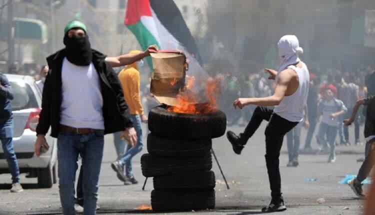 مواجهات الفلسطينيين مع قوات الاحتلال في الضفة الغربية