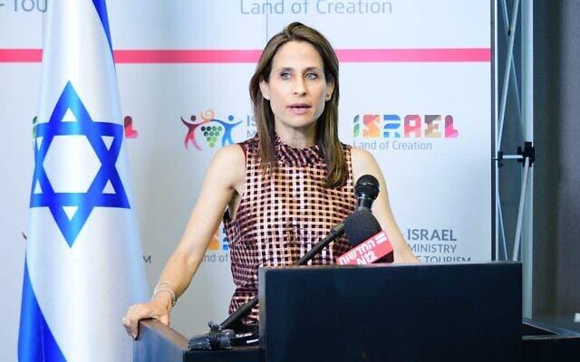 وزيرة السياحة الاسرائيلية أوريت فركاش-هكوهين