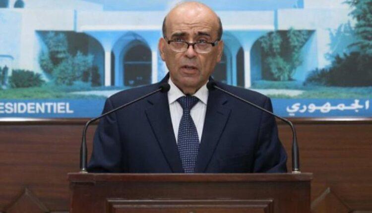 وزير خارجية لبنان شربل وهبة