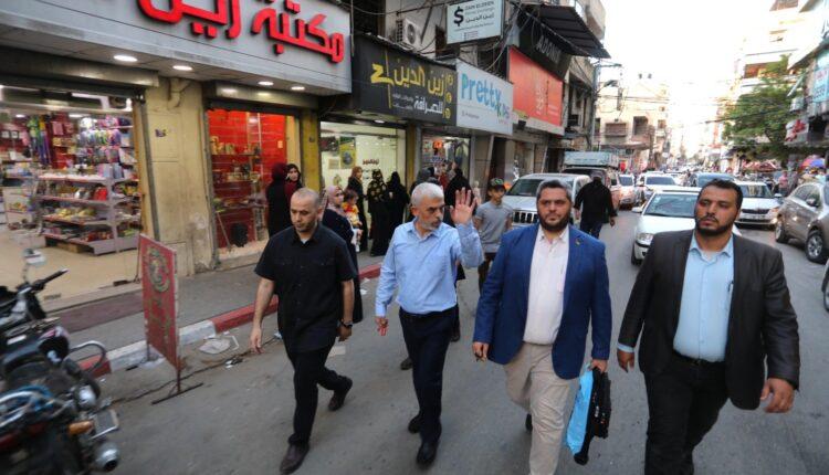 يحيى السنوار قائد حماس