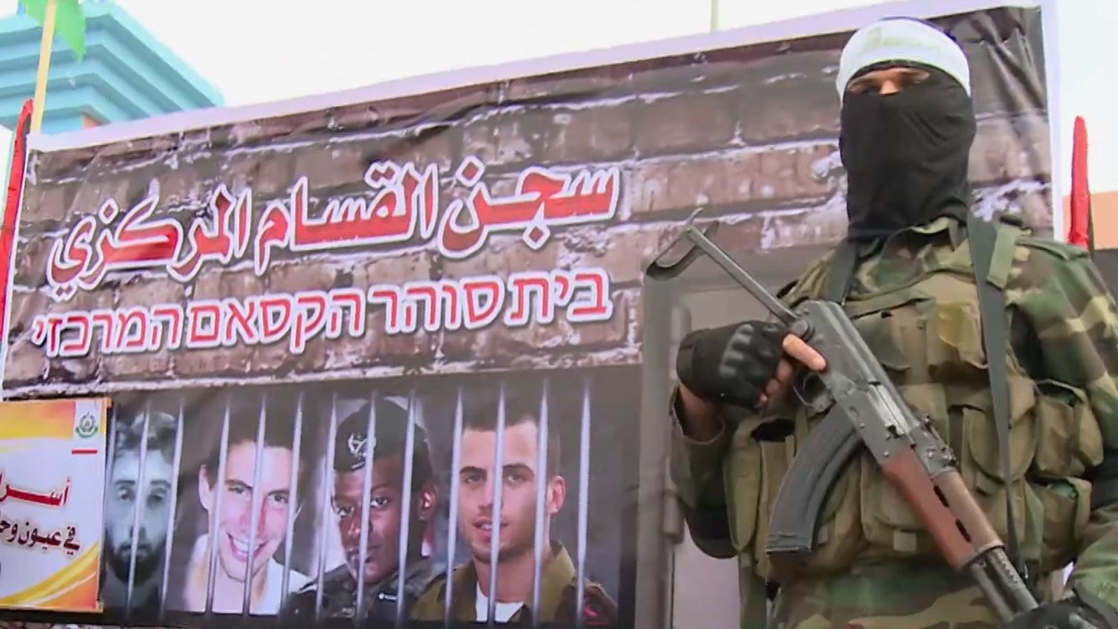 أسرى اسرائيل في غزة- صفقة الاسرى