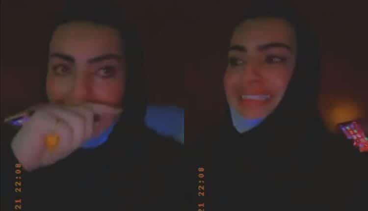 أميرة الناصر و مشعل الخالدي ينجوان من الموت بحادث سير