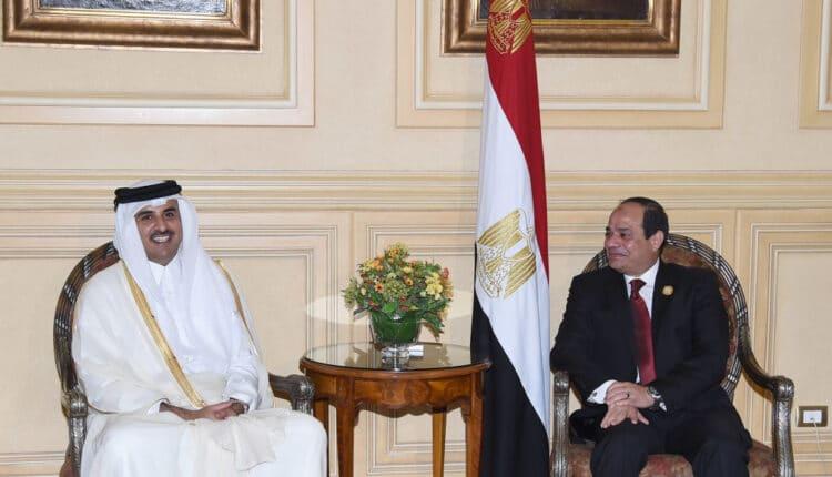 خطوات على طريق تطبيع العلاقات بين مصر و قطر