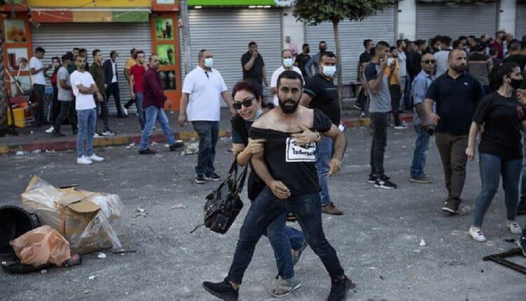 احتجاجات رام الله المنددة بمقتل نزار بنات