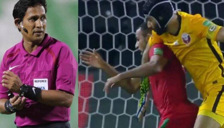 غضب عُماني واسع من حكم مباراة عمان وقطر