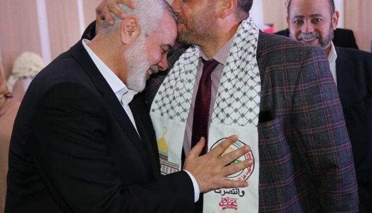 إسماعيل هنية في المغرب
