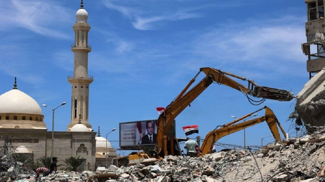 اعادة الاعمار في غزة