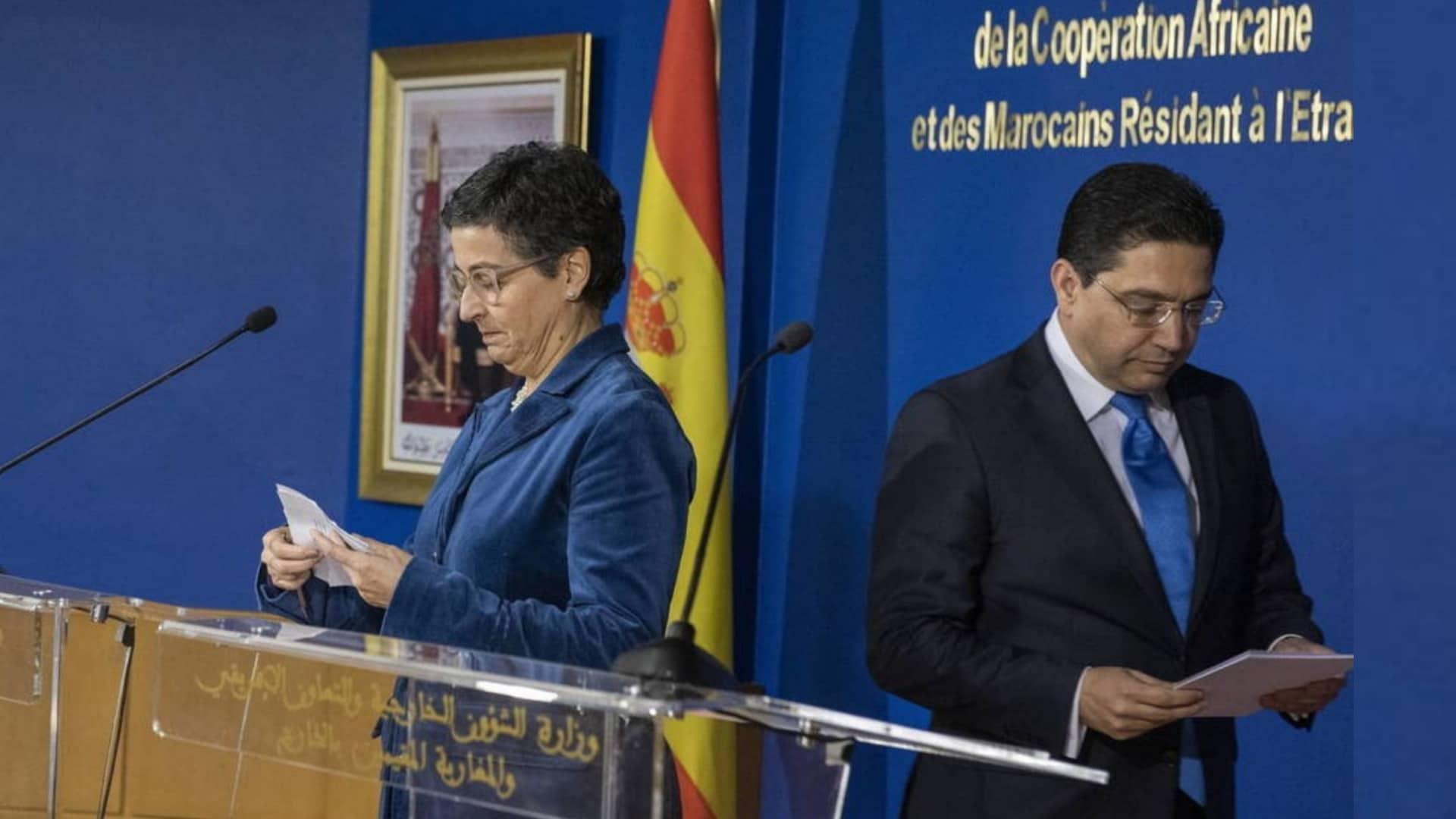 الأزمة الدبلوماسية بين المغرب وإسبانيا