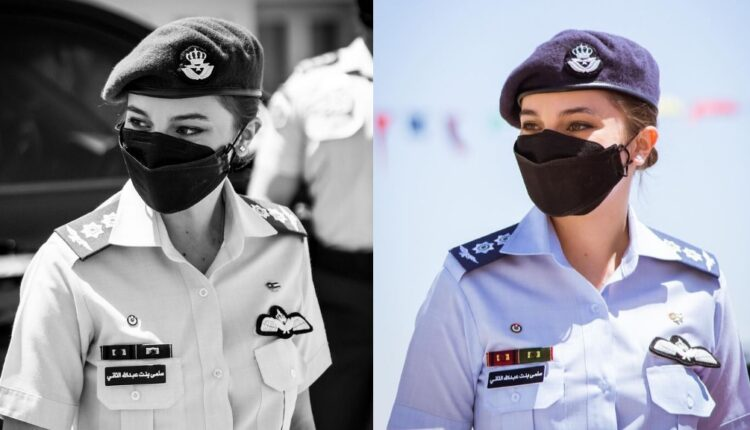 الأميرة سلمى تلفت الأنظار بافتتاح مركز تدريب المرأة العسكرية في الزرقاء