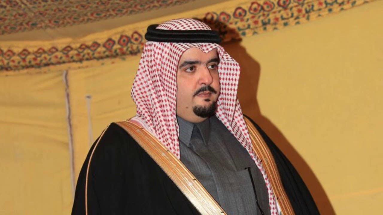 الأمير عبدالعزيز بن فهد يظهر في فيديو مقتضب مع خاله الوليد بن ابراهيم