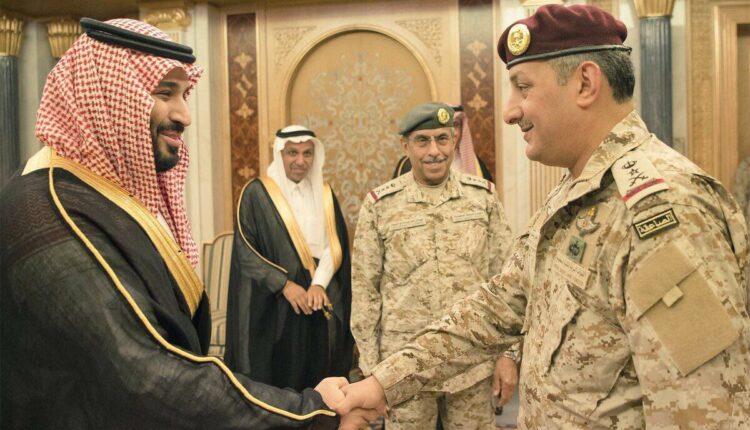 الأمير فهد بن تركي بن عبدالعزيز ومحمد بن سلمان
