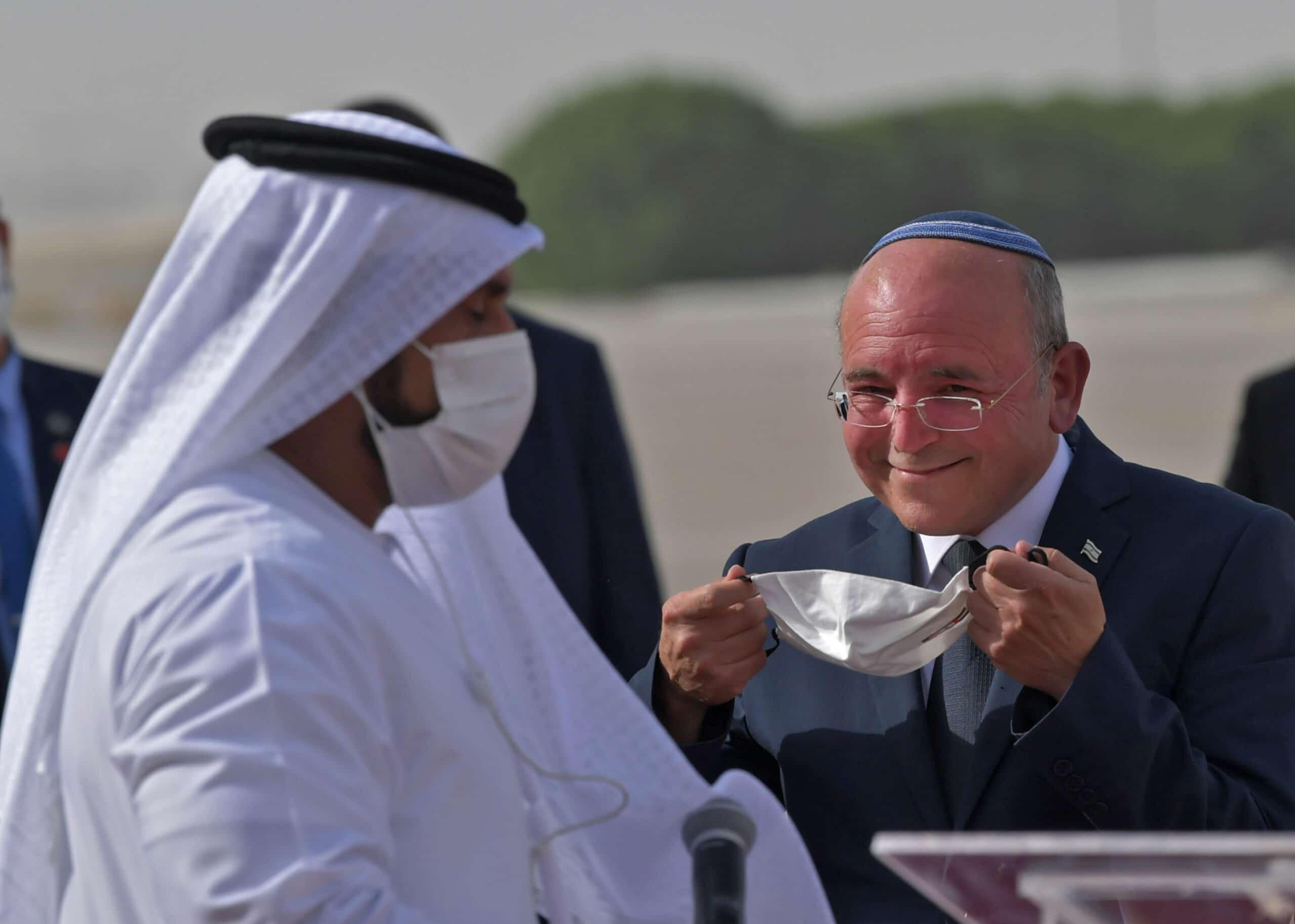 الإمارات غاضبة وبوادر أزمة .. وزيرة إسرائيلية تطالب بإلغاء هذه الإتفاقية مع أبوظبي