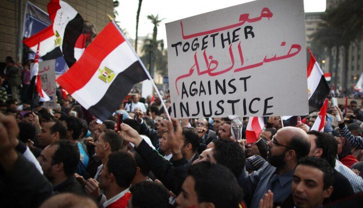 الثورة في مصر