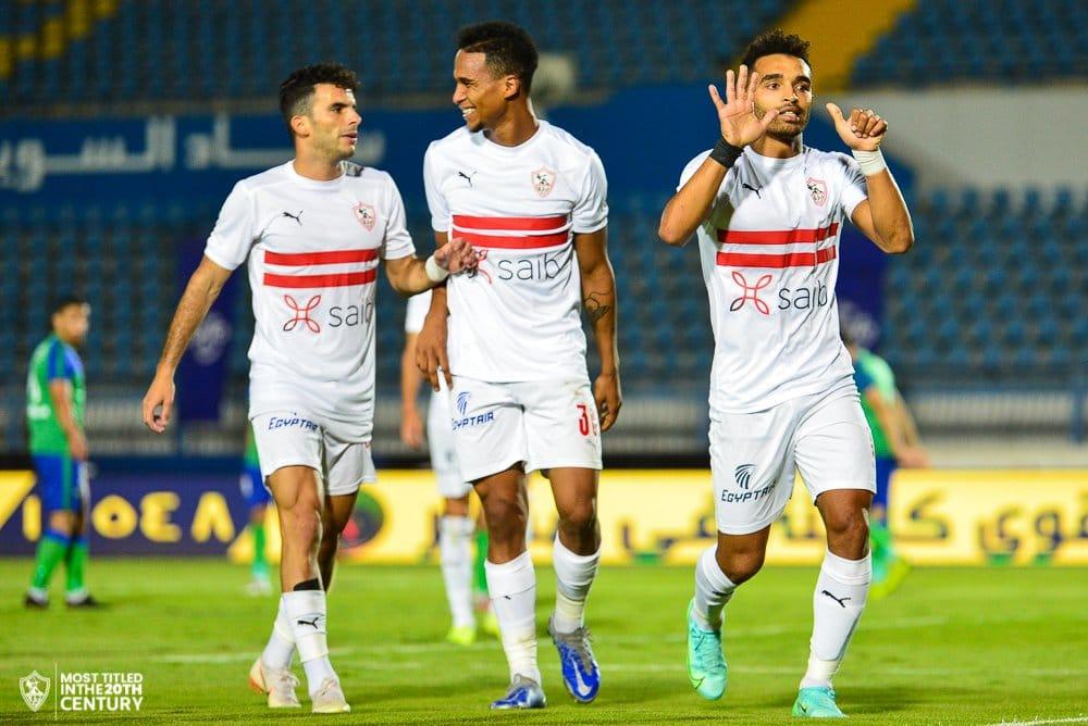 الزمالك يهزم مصر المقاصة ويتأهل إلى النصف النهائي من كأس مصر