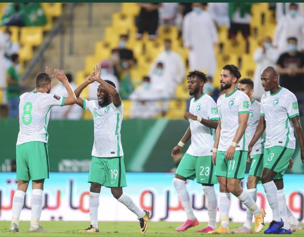 مباراة السعودية واليمن في تصفيات كأس أسيا
