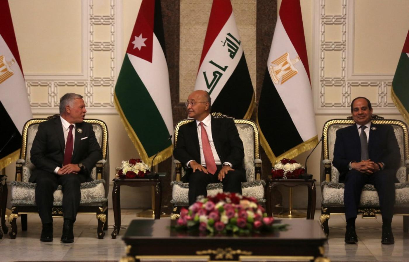 بعد زيارة السيسي وملك الأردن إلى العراق .. هذه التحديات التي تواجه التحالف العربي الجديد