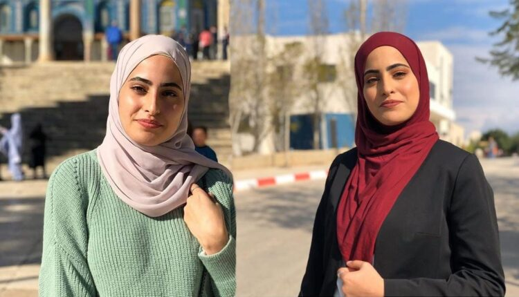 الصحفية المقدسية منى الكرد