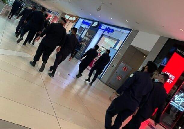 انتشار أمني في المجمعات التجارية بالكويت