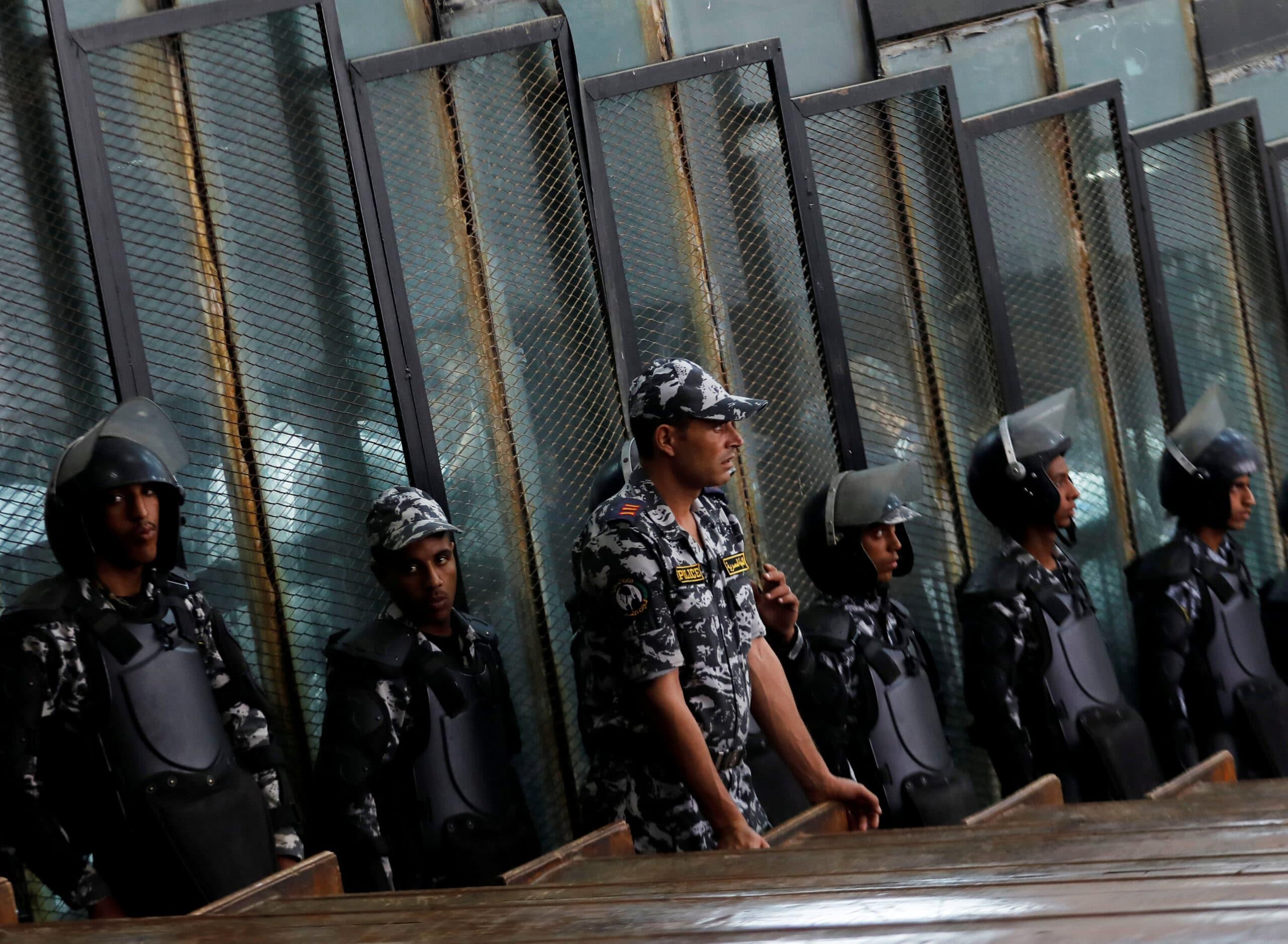 المتهمون في قضية رابعة