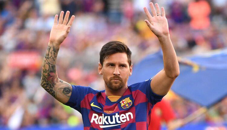 ليونيل ميسي والمفاوضات مع برشلونة بشأن تجديد عقده
