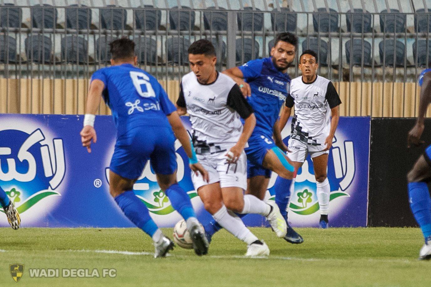 مباراة وادي دجلة وأسوان في الدوري المصري