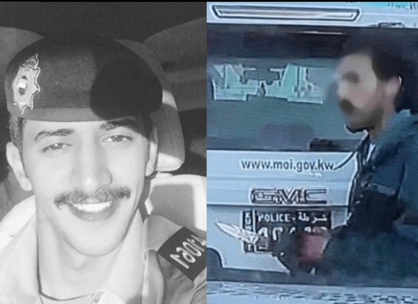 مفاجأة في جريمة المهبولة.. القاتل بدون وشرطي المرور ليس كويتي وهذا ما قاله زميله عن عدم إنقاذه