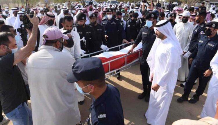 جنازة الشرطي عبدالعزيز الرشيدي