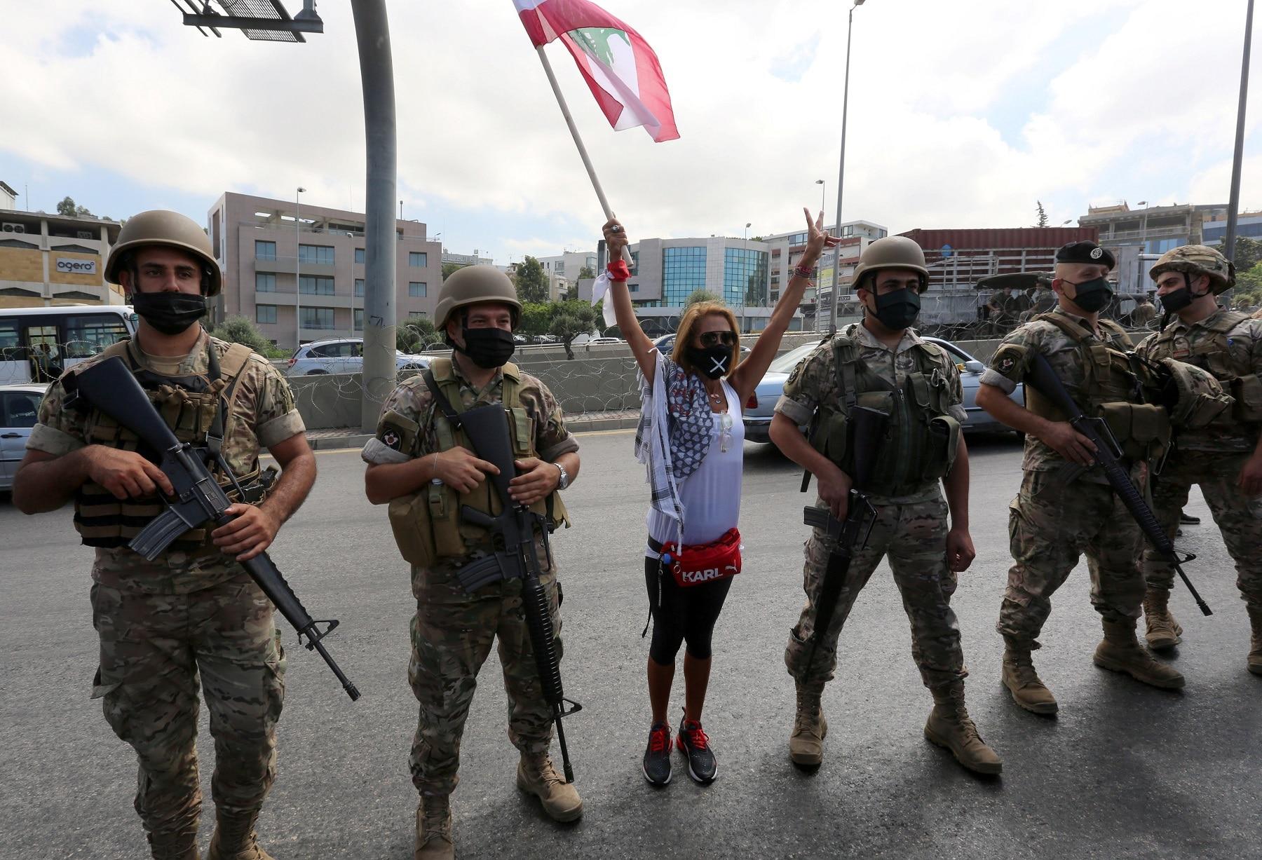 جنود الجيش اللبناني