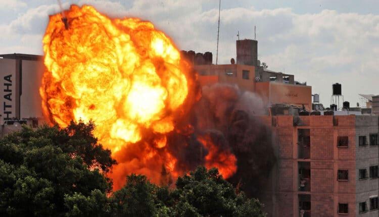 حرب اسرائيلية على قطاع غزة