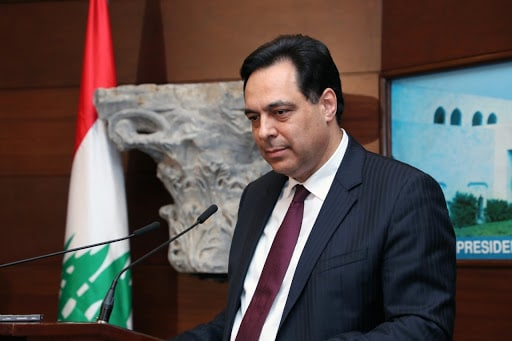 حسان دياب رئيس وزراء لبنان