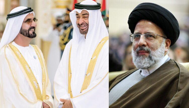 حكام الإمارات يهنئون الرئيس الإيراني الجديد ابراهيم رئيسي