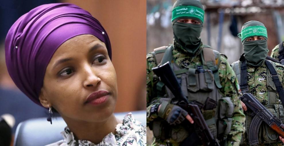 حماس تستغرب تصريحا لـ(إلهان عمر) وتتهمها بالمساواة بين الضحية والجلاد