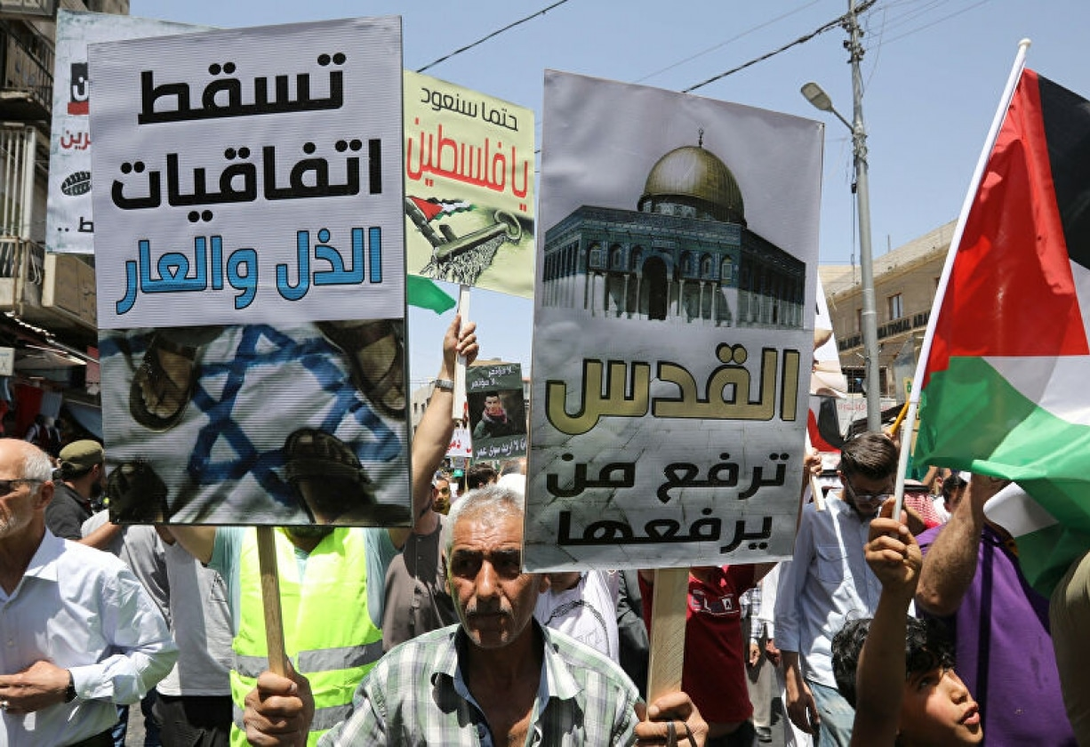 """هل تنجح حملة """"نزل القاطع"""" في إجبار الأردن على التراجع عن اتفاقية الغاز مع إسرائيل؟"""