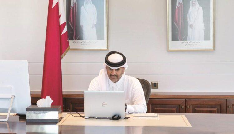رئيس وزراء قطر خالد بن خليفة بن عبد العزيز آل ثاني