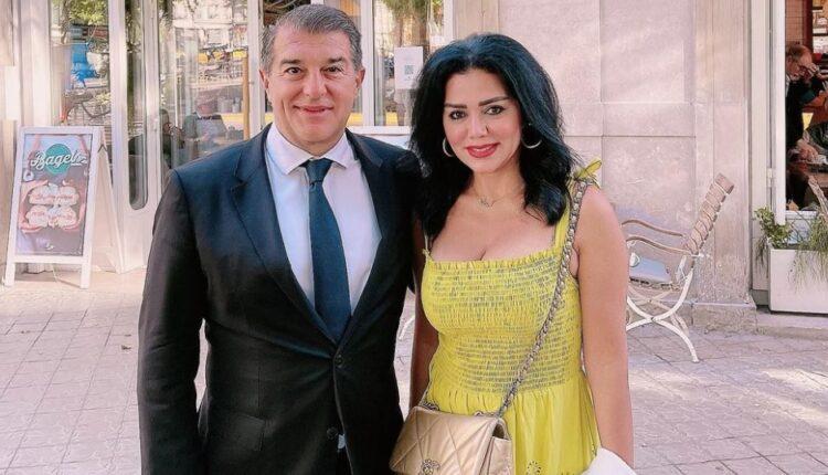 رانيا يوسف و خوان لابورتا