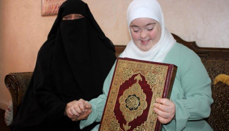 روان الدويك .. فتاة أردنية مصابة بـ(متلازمة داون) تتم حفظ القرآن